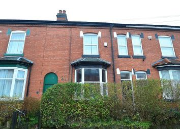 Thumbnail 3 bed terraced house for sale in Institute Road, Kings Heath, Birmingham