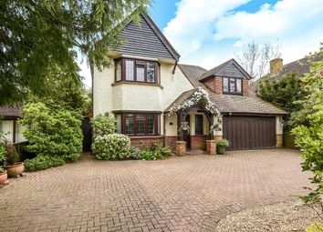 Thumbnail 4 bed detached house for sale in Stroude Road, Virginia Water
