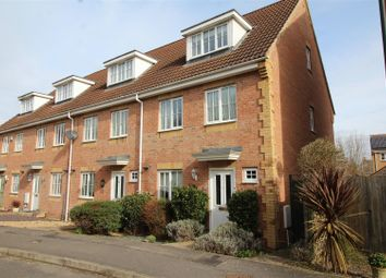 Thumbnail 3 bed town house for sale in County Road, Hampton Vale, Peterborough