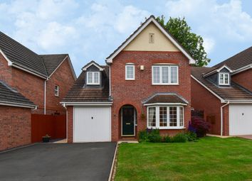 Thumbnail 3 bed detached house for sale in Appletrees Crescent, Bromsgrove, Worcestershire