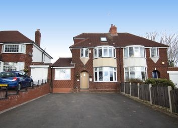Thumbnail 4 bed semi-detached house for sale in Aldridge Road, Streetly, Sutton Coldfield