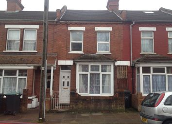Thumbnail 3 bedroom terraced house to rent in Norman Road, Luton, Beds