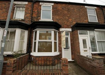 Thumbnail 2 bed terraced house to rent in Wainfleet Avenue, Cottingham