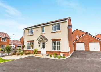 Thumbnail 4 bed detached house for sale in Brynteg Green, Beddau, Pontypridd