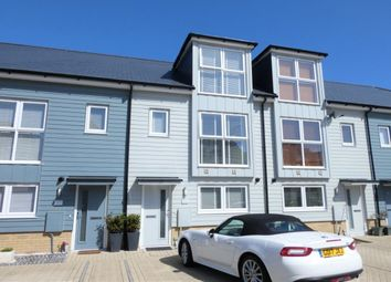 Thumbnail 3 bed terraced house for sale in Trinity Drive, Folkestone
