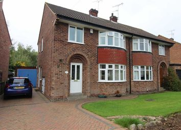 Thumbnail 3 bed semi-detached house for sale in Hardwick Avenue, Allestree, Derby