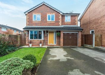 Thumbnail 4 bedroom detached house for sale in Poppyfield, Cottam, Preston