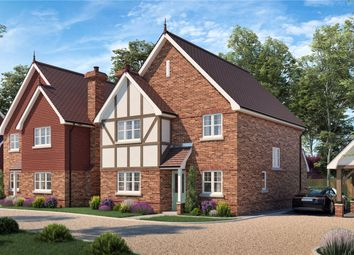 Thumbnail 4 bed detached house for sale in Croft Road, Shinfield, Reading, Berkshire