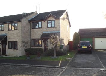 Thumbnail 3 bed semi-detached house for sale in Shelley Close, Stowmarket