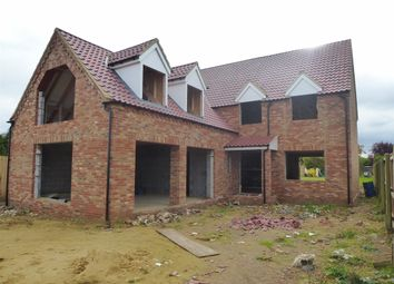 Thumbnail 4 bed detached house for sale in Bar Drove, Friday Bridge, Wisbech