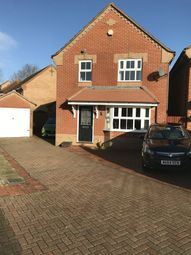 Thumbnail 3 bed detached house for sale in Celandine Road, Attleborough