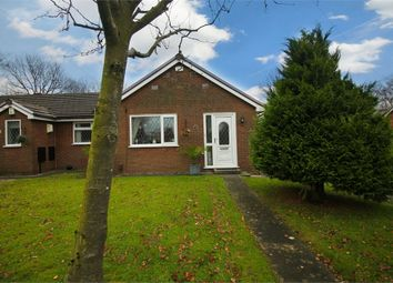 Thumbnail 2 bed terraced bungalow for sale in Westcott Close, Harwood, Bolton, Lancashire