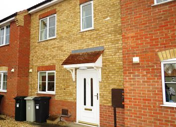 Thumbnail 2 bed terraced house to rent in Curtis Drive, Coningsby, Lincoln