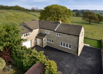 Thumbnail 4 bed detached house for sale in Meadow View, Rowley Lane, Fenay Bridge, Huddersfield, West Yorkshire