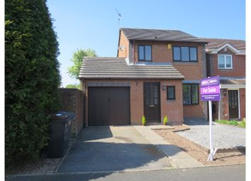 Thumbnail 3 bed detached house for sale in Heron Close, Madeley Nr Crewe
