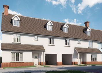 Thumbnail 4 bed terraced house for sale in The Street, High Roding, Dunmow, Essex