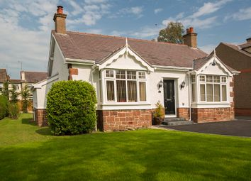 Thumbnail 3 bed detached bungalow for sale in Rock Avenue, Heswall, Wirral