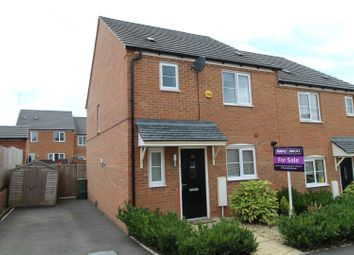 Thumbnail 3 bedroom semi-detached house for sale in King Close, Newton Leys