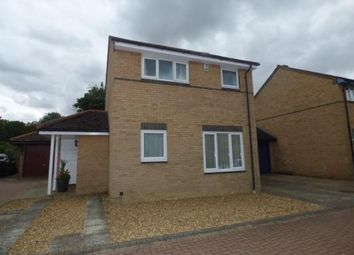Thumbnail 3 bed link-detached house for sale in Greenhill Close, Loughton, Milton Keynes, Bucks