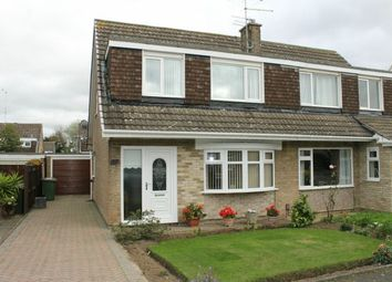 Thumbnail 3 bed semi-detached house for sale in Lark Drive, Galley Hill, Guisborough