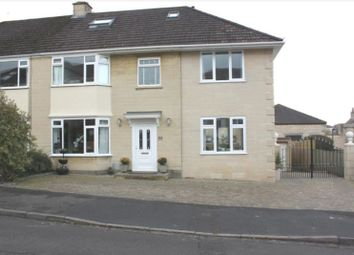 Thumbnail 5 bed semi-detached house for sale in Lynfield Park, Weston, Bath