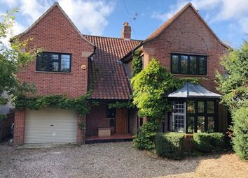 Thumbnail 5 bed detached house for sale in Harvey Lane, Thorpe St. Andrew, Norwich