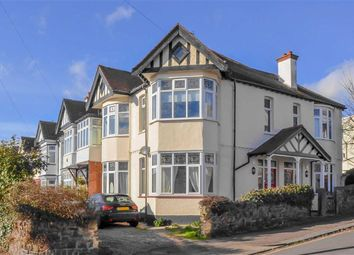 Thumbnail 2 bed flat for sale in Hillside Crescent, Leigh-On-Sea, Essex
