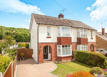 Thumbnail 3 bed semi-detached house for sale in Valley Road, River, Dover, Kent