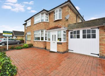 Thumbnail 3 bedroom semi-detached house to rent in Repton Road, Wigston, Leicester