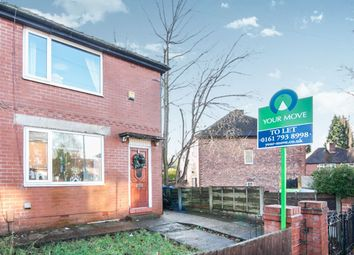 Thumbnail 2 bed semi-detached house to rent in Deepdale Drive, Pendlebury, Swinton, Manchester