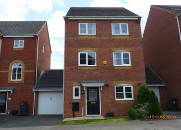 Thumbnail 4 bedroom detached house for sale in Passionflower Close, Bedworth