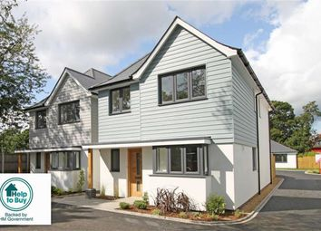 Thumbnail 4 bed detached house for sale in Somerford Avenue, Highcliffe, Christchurch, Dorset