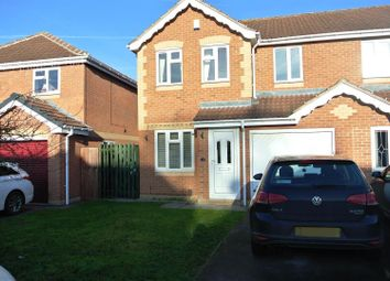 Thumbnail 3 bed semi-detached house for sale in Baysdale Grove, Grantham