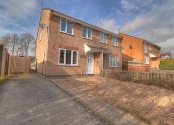 Thumbnail 3 bed semi-detached house for sale in Heron Road, Oakham