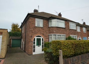 Thumbnail 3 bedroom semi-detached house for sale in Heybrook Avenue, Blaby, Leicester