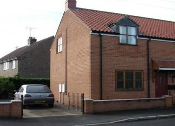 Thumbnail 2 bed semi-detached house to rent in Back Lane South, Middleton, Pickering