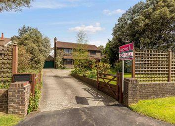 Thumbnail 4 bed detached house for sale in Barnham Road, Barnham, Bognor Regis