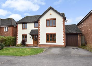 Thumbnail 4 bed detached house for sale in Upmill Close, West End, Southampton