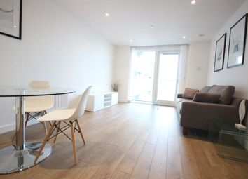 Thumbnail 2 bed flat to rent in Platinum Riverside, 17 Bessemer, London