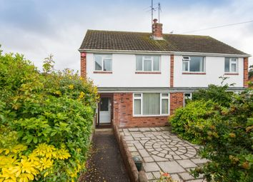 Thumbnail 3 bed semi-detached house for sale in West Garth Road, Exeter