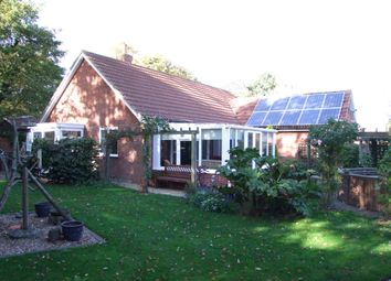 Thumbnail 3 bed detached bungalow for sale in Holly Tree Close, Church Road, Leiston, Suffolk