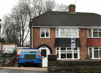 Thumbnail 3 bedroom semi-detached house for sale in Elmdale Road, Bramford Estate, Coseley