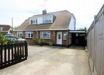 Thumbnail 2 bed semi-detached house for sale in South Parade, Canvey Island, Essex