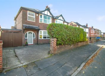 Thumbnail 4 bed semi-detached house for sale in Fairfield Road, Stockton Heath, Warrington
