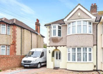 Thumbnail 3 bed semi-detached house for sale in Carlyon Avenue, Harrow, Middlesex