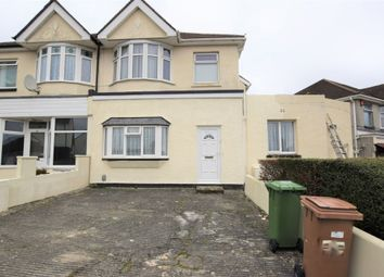 Thumbnail 2 bed flat for sale in Higher Efford Road, Efford, Plymouth