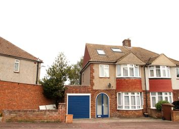 Thumbnail 4 bed semi-detached house to rent in Allington Drive, Rochester, Kent