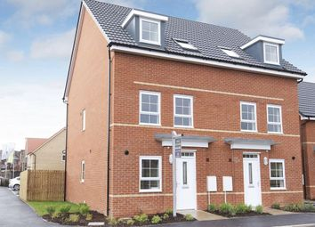 """Thumbnail 3 bedroom end terrace house for sale in """"Norbury"""" at Beech Croft, Barlby, Selby"""