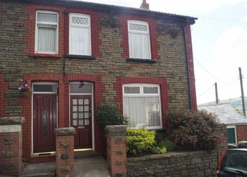 Thumbnail 3 bed semi-detached house for sale in Aberffrwd Road, Mountain Ash