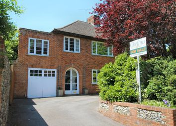 Thumbnail 4 bed semi-detached house for sale in South Road, Saffron Walden